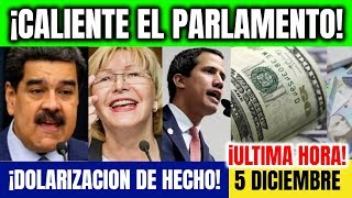 VENEZUELA HOY Investigación Caliente Parlamento Venezuela Ultimas Noticias 5 De Diciembre