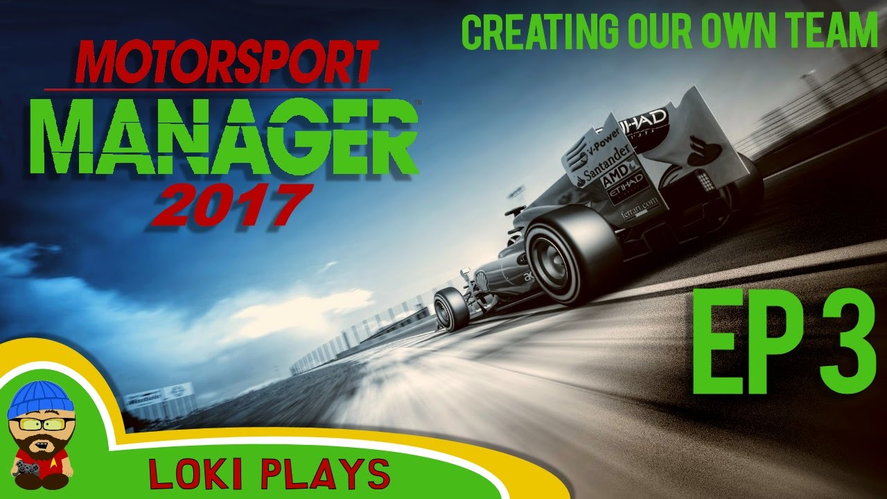 motorsport manager pc lets play ep3 creating our own team f1 manager youtube. Black Bedroom Furniture Sets. Home Design Ideas