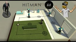 Toy Hitman! | Hitman GO VR (Oculus Rift Virtual Reality)