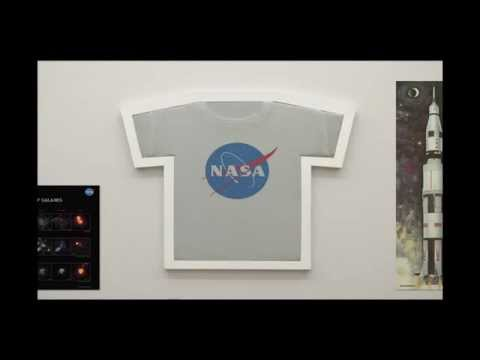 t-frame t shirt display - YouTube