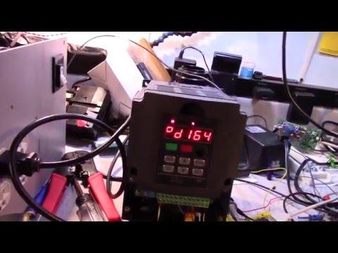 CNC 3   VFD and Problems