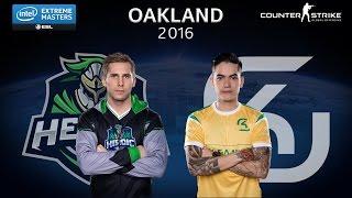 CS:GO - Heroic vs. SK [Cbble] - Group B - IEM Oakland 2016 [2/2]