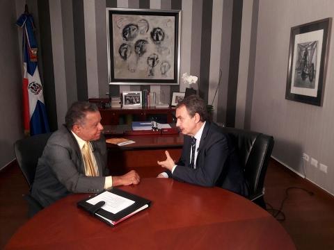 Entrevista al expresidente español José Luis Rodríguez Zapatero