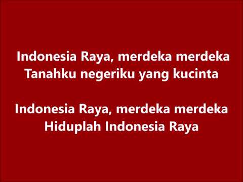 Indonesia Raya (pakai vokal dan intro) 3x4