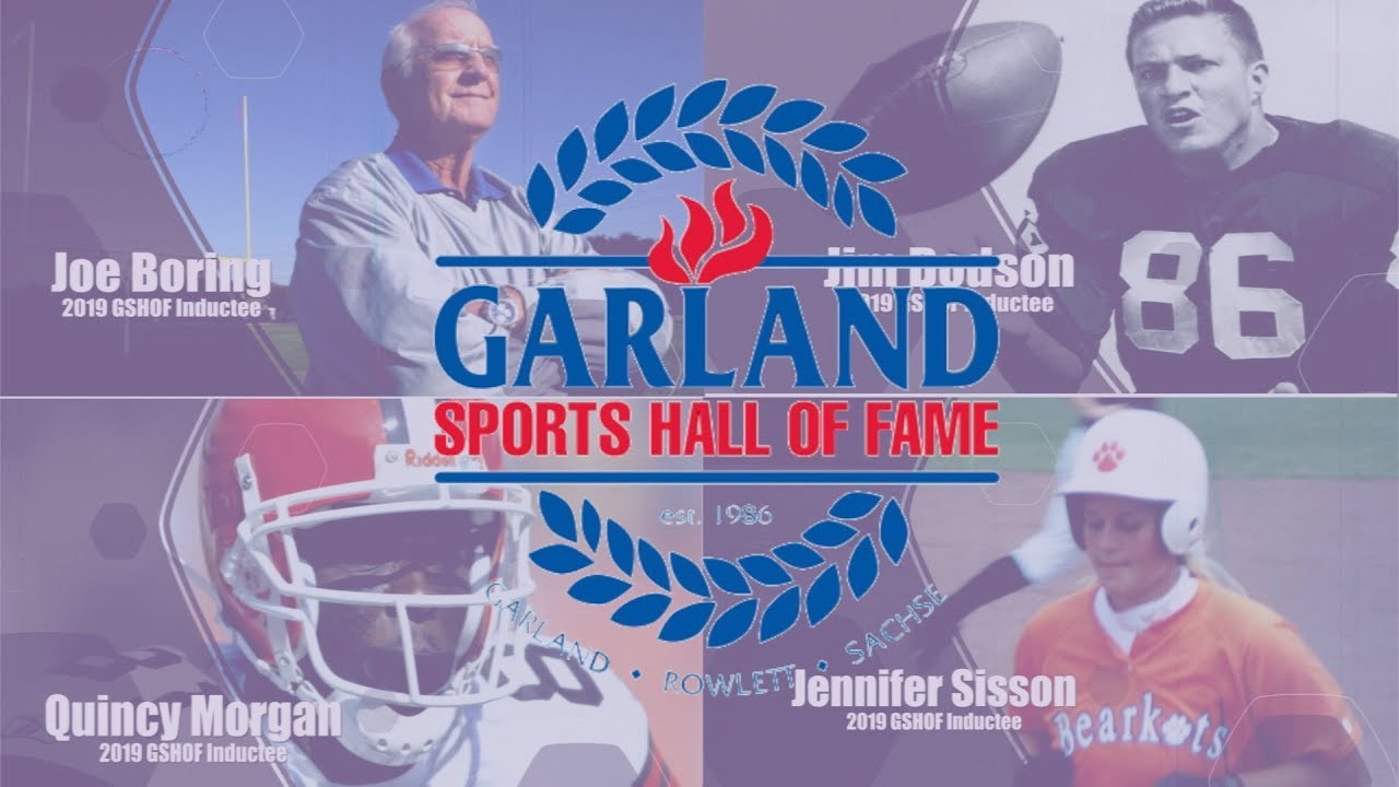 Download Garland ISD:  Garland Sports Hall of Fame 2019 Induction Ceremony