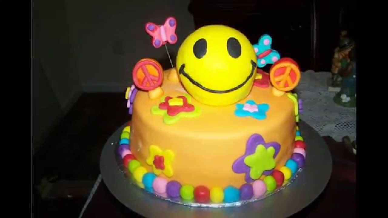 How To Make A Smiley Face Birthday Cake
