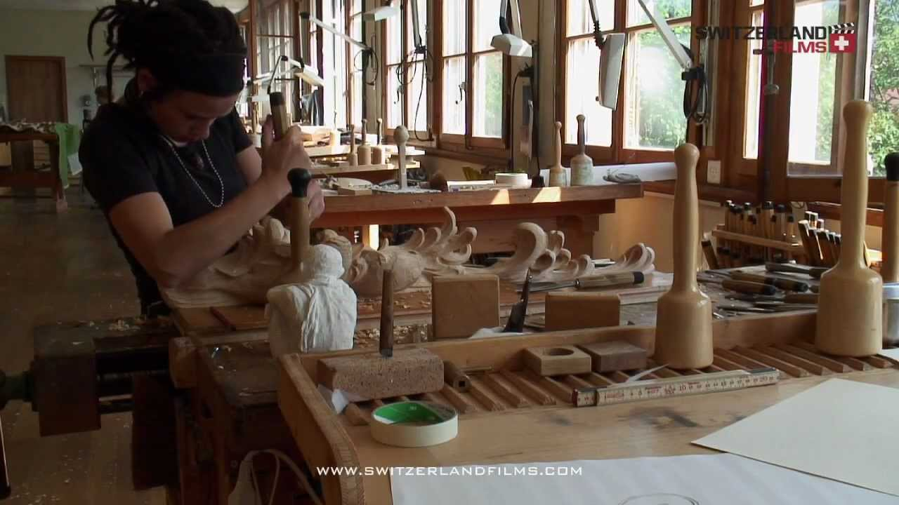 Brienz wood carving school youtube