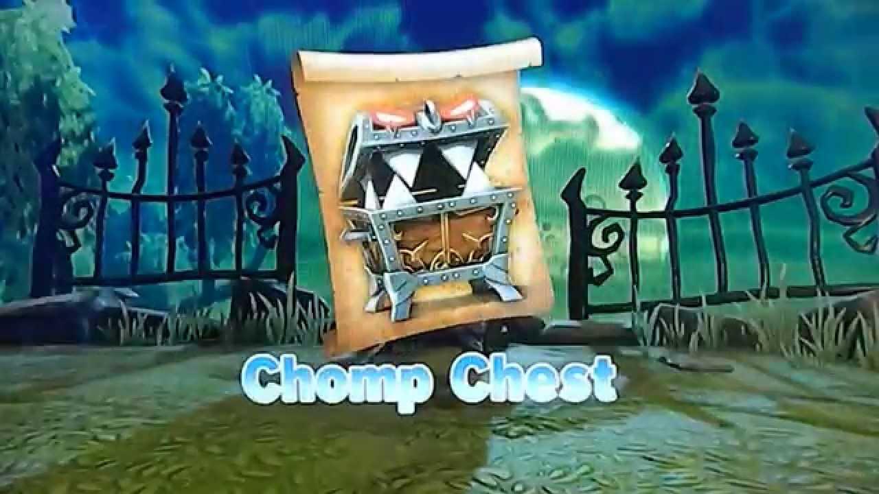 skylanders trap team nightmare mode chomp chest youtube