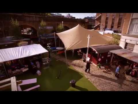 Stretch and Tents @ Flat Iron Square & Stretch and Tents @ Flat Iron Square - YouTube