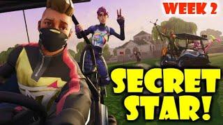 Fortnite SECRET BATTLE STAR WEEK 2 (Season 5)