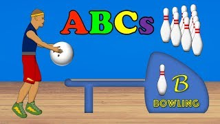 Bowling Balls - ABC Alphabet Song for Kids