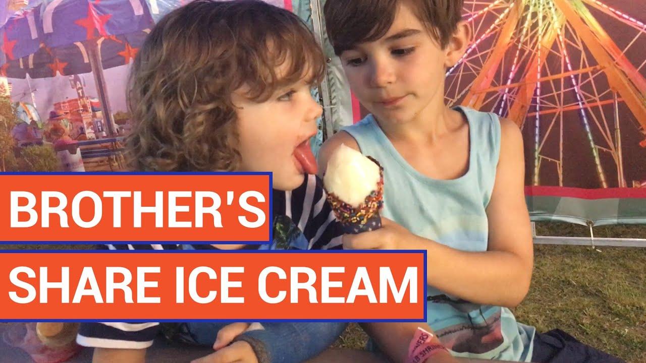Sharing Ice Cream | Daily Heart Beat