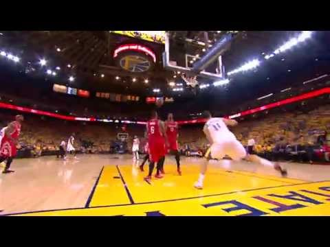 Klay Thompson Attacks the Paint with Power