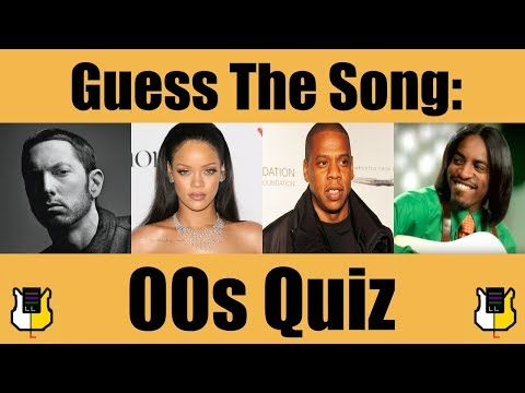 Guess The Song: 00s! | QUIZ
