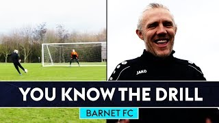 Jimmy suffers a goal drought! | You Know The Drill | Barnet