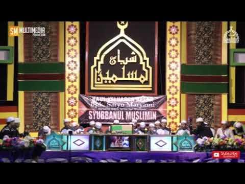 Annabi Shollu alaik-ya toibah lanjut sayyidi sayyidi oleh Hafidzul Ahkam vocal Syubbanul Muslimin