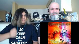 Demons & Wizards - Crimson King [Reaction/Review]