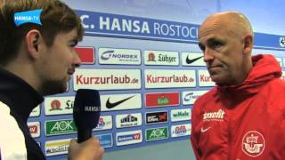 Trainer-Interview vor dem Auswärtsspiel beim Halleschen FC