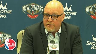 David Griffin full press conference | New Orleans Pelicans | 2019 NBA Media Day