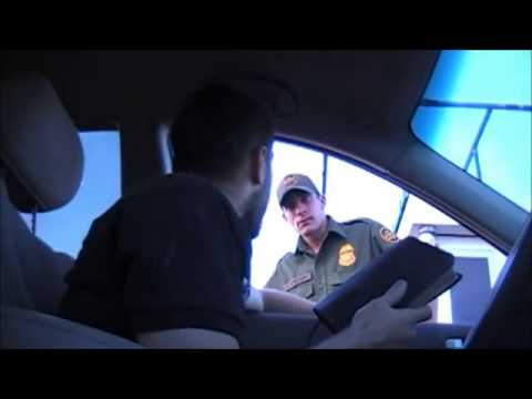 Fastest way to get through a border patrol checkpoint