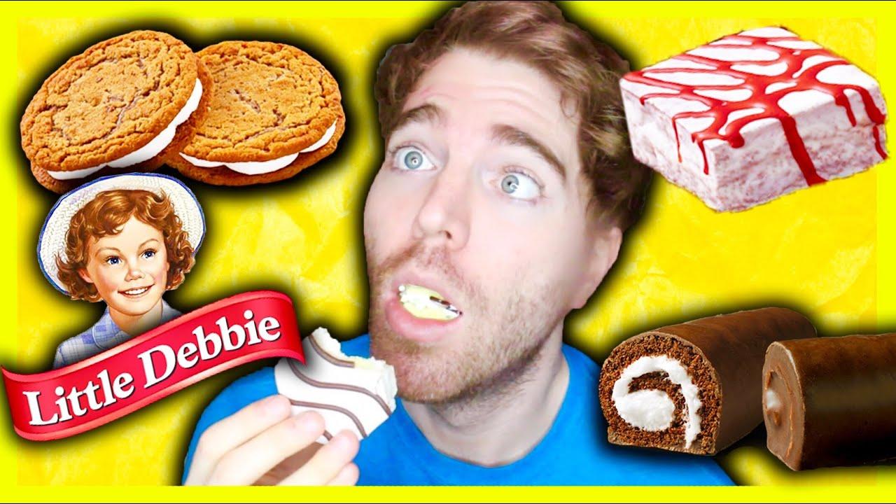 TASTING LITTLE DEBBIE SNACKS - YouTube