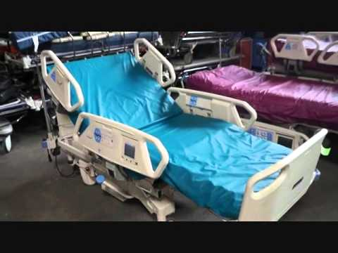 refurbished hillrom totalcare p1900 treatment hospital bed