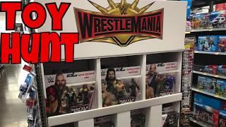 WWE Walmart Toy Hunt + Wrestlemania Section!