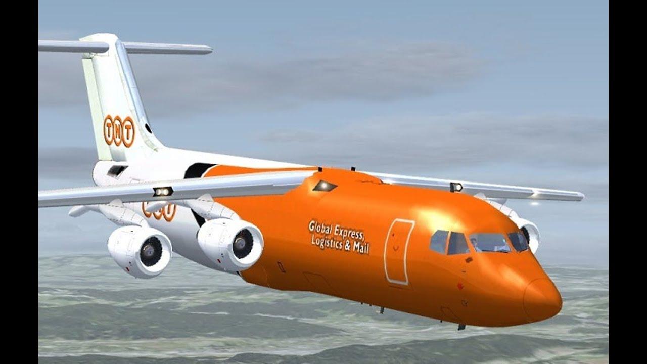 Bae 146 Tnt cargo fsx