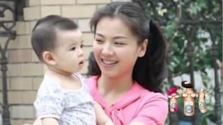 刘涛5岁儿子罕见曝光 眼睛漂亮似妈妈