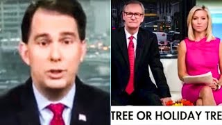 Scott Walker FAILS Big Time During War On Christmas Rant