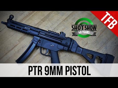 [SHOT 2018] TFBTV Exclusive: The New PTR 9C And 9CT Roller Delayed 9mm