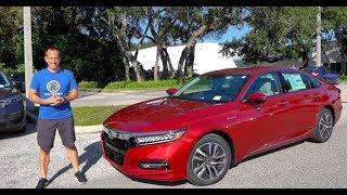 Is the 2020 Honda Accord Hybrid Touring the BEST fuel saving mid-size sedan?