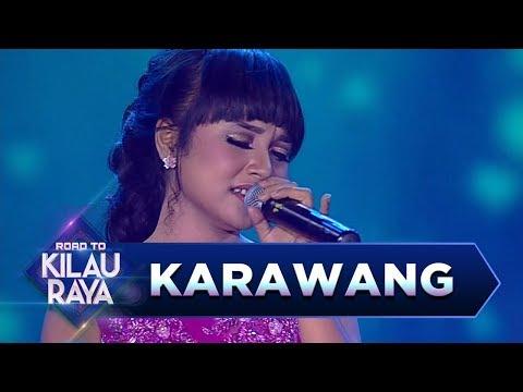 Cantiknya Tasya Rosmala Saat Menyanyikan Lagu [SINAR] - Road to Kilau Raya (18/3)