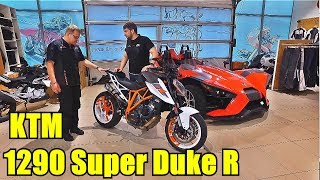 KTM 1290 Super Duke R. Unleash The Beast. Обзор мотоцикла.