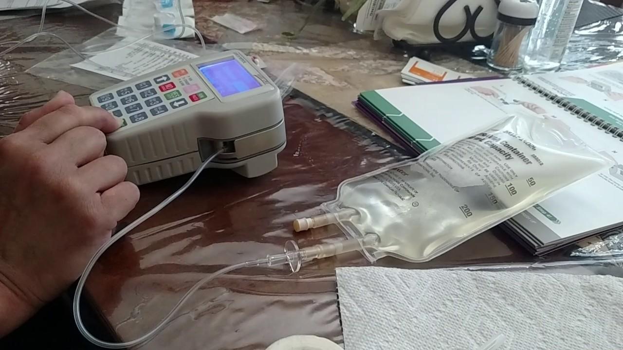 Home IVIG Sub-Q step three infusion