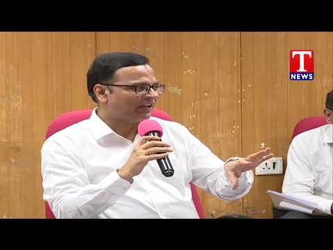 Principal Secretary (Finance) K Ramakrishna Rao Interact with  media | T News Telugu