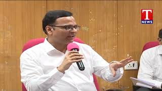 Principal Secretary (Finance) K Ramakrishna Rao Interact with  media | T News Telugu