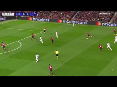 Mourinho outplayed by Allegri's False Nine Tactic   Manchester United - Juventus Tactical Analysis