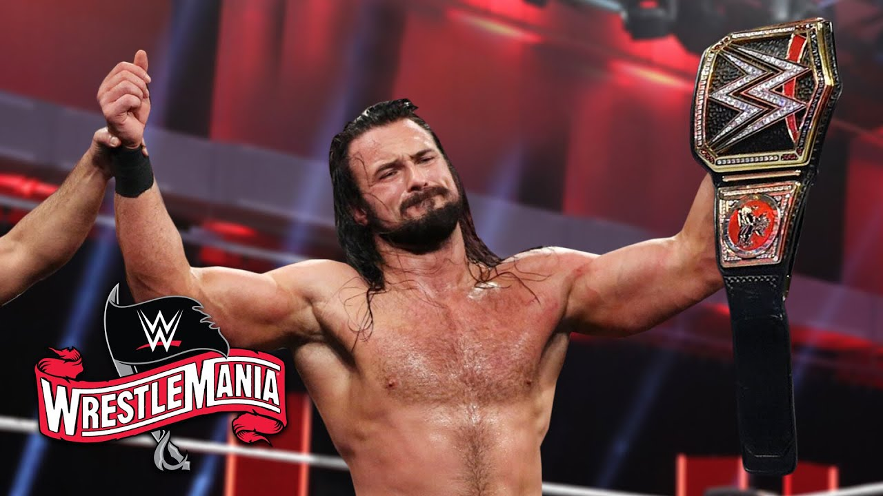 WWE WrestleMania 36 results, recap, grades: Huge title changes ...