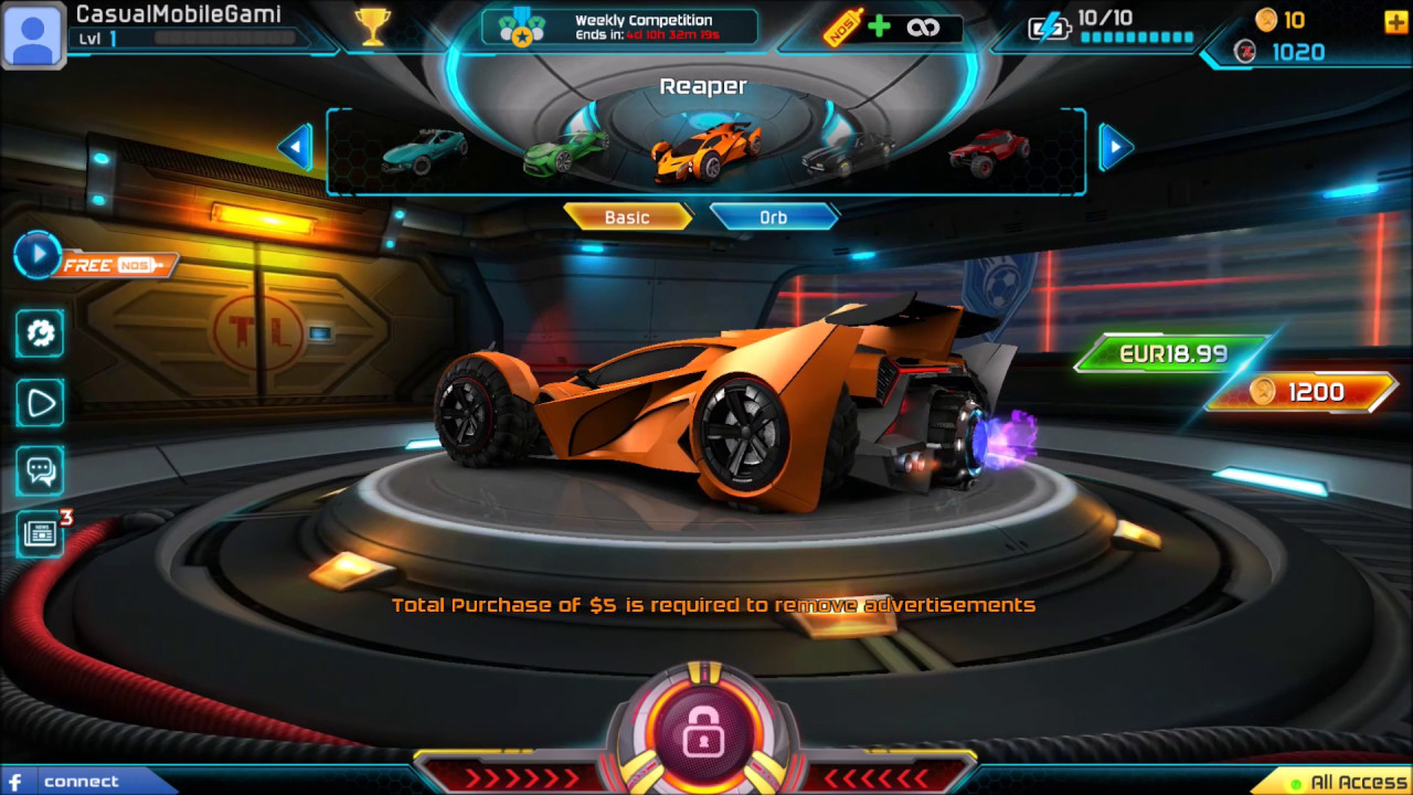 MORE CARS + ARENA UPDATE – Turbo League Pocket Rocket League Mobile