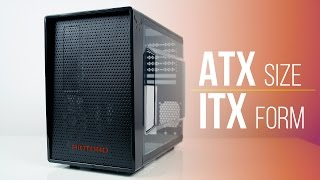 Riotoro CR1080 Case Review - ATX Components in ITX Package!