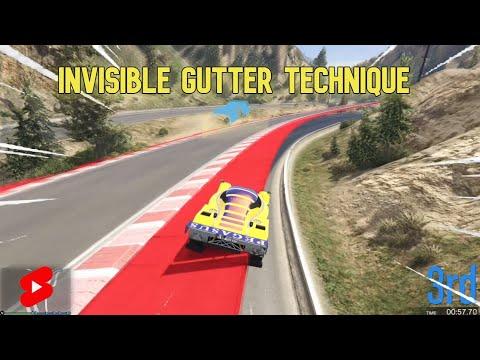Invisible gutter run