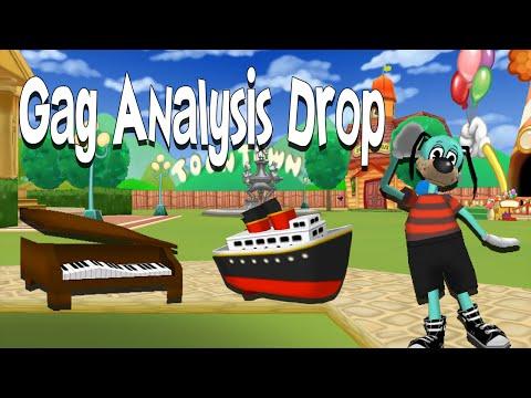 Gag Analysis: Drop Gags (Toontown Rewritten Tips & Tricks)