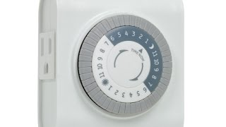 How to use GE 24 Hour Plug In Heavy Duty Indoor Mechanical Pin Timer