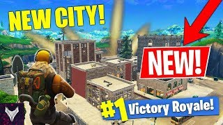Fortnite Gamplay: Secret City, New Skin, New Map, (Free No Copyright Gameplay)