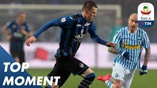 Iličić on target secures victory for Atalanta   Atalanta 2-1 Spal   Top Moment   Serie A