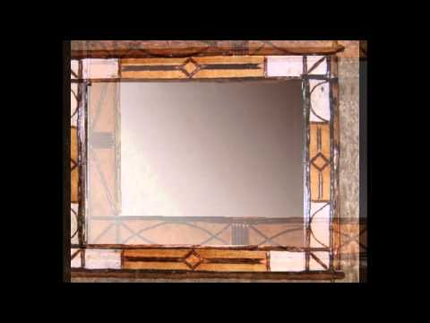 Birch Bark & Hickory Twig Mirrors and Frames from ADIRONDACK RUSTIC ...