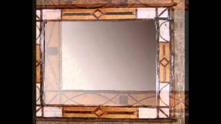 Birch Bark  & Hickory Twig Mirrors And Frames From Adirondack Rustic Design
