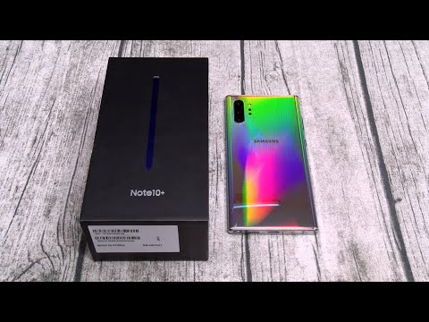 Samsung Galaxy Note 10 Plus - Unboxing and First Impressions