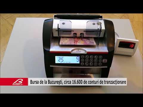 Bursa de la Bucuresti, circa 16 600 de conturi de tranzactionare